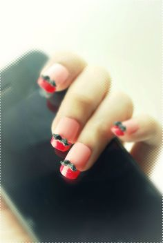 3d mustaches for nails!