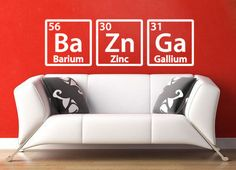 The Big Bang Theory Sheldon Cooper Bazinga Wall Decal Sticker