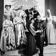Cinderella  (CBS) February 22, 1965  Music by Richard Rodgers  Lyrics by Oscar Hammerstein II  Cast: Leslie Ann Warren (Cinderella), Stuart Damon (Prince), Celeste Holm (Fairy Godmother), Ginger Rogers (Queen), Walter Pidgeon (King), Pat Carroll (Prunella), Barbara Ruick (Esmerelda), Jo Van Fleet (Stepmother), Don Heitgerd (Herald)