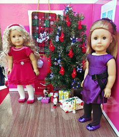 How to set up your American Girl holiday scene