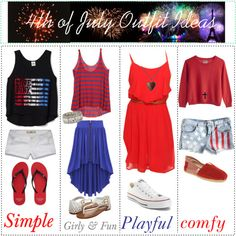 4th of July Outfit Ideas <3
