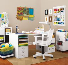 Create the #craft room of your dreams #organize