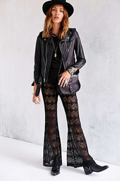 Urban Outfitters #Crochet Pants