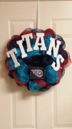 Tennessee Titans wreath