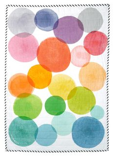 WATERCOLOR QUILT by Hopewell Workshop