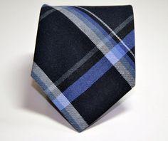 Wool Plaid Necktie