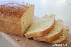 Amish White Bread: The best white bread to come out of our oven. Ever. I use whole wheat sometimes and use honey instead of the sugar. Still fantastic.