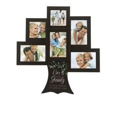 Malden Our Family Tree - Growing memories one smile Great Woods Frame, 6 Opening