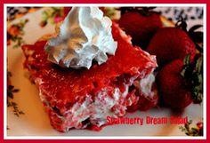 Sweet Tea and Cornbread: Strawberry Dream Salad!