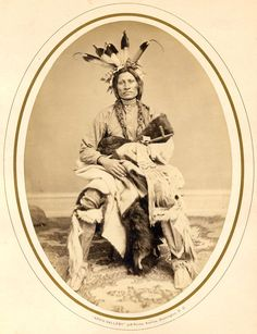 Psi Ca Na Kin Yan (Jumping Thunder) - Yankton Lakota Chief 1867
