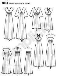 simplicity 1804 - I love A