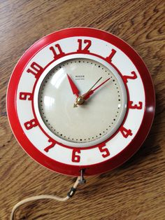 Miller Electric Wall Clock from the 1940's by HistoryReborn, $59.00