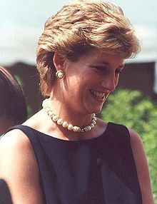 Diana, Princess of Wales - philanthropist #internationalwomensday #princessdiana