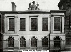 No. 6, Norfolk Street, premises of John Rodgers and Sons Ltd, cutlers 'in 1822'