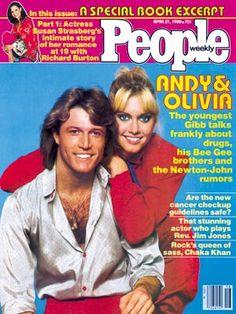 Olivia Newton-John Cover, Andy Gibb