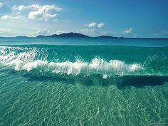 dream, wave, jamaica beach