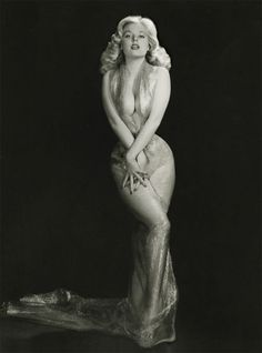 Betty Brosmer. An interesting fact: Even though she was the 'super model' of pin up, Betty never took her clothes off!