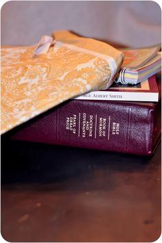 place mat scripture case