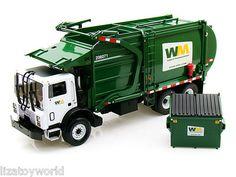 Waste Management MACK Front-End Loader Trash Truck 1:34 Scale NEW IN BOX