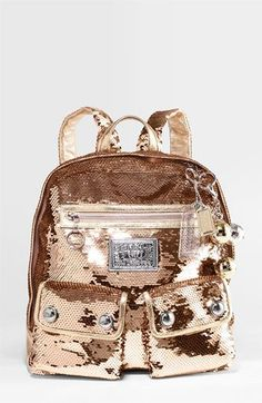 COACH POPPY SEQUIN BACKPACK available at #Nordstrom