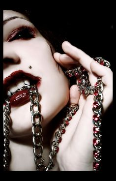 Vampires and piercings...another 2 in 1 picture