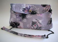 Disney Villainess Clutch Purse with Chain Strap / by aPopUpShop, $25.00