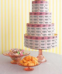 Carnival themed party centerpiece ideahttp://www.celebrations.com/content/creating-carnival-game-booths