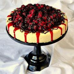 Raspberry Tuxedo Cheesecake - Rock Recipes -The Best Food & Photos from my St. John's, Newfoundland Kitchen.