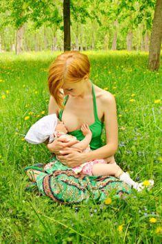 #breastfeeding is green