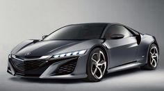 The sexy Honda NSX.