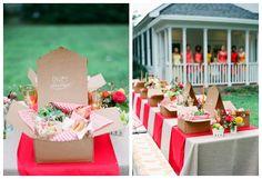 Picnic Wedding bridal luncheon, wedding themes, casual summer, picnic theme, anniversary parties, wedding blog, rustic theme, picnic baskets, big day