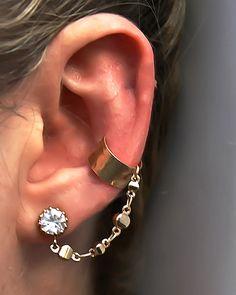Diamond Cuff earring