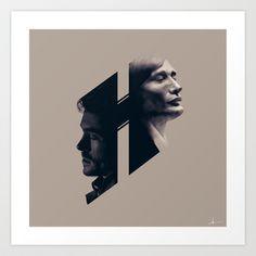 H for Hannibal Art Print by HYRenee - $14.00