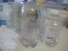 How To...Store Water in Plastic Bottles