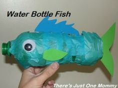 A Fishy Water Bottle Craft