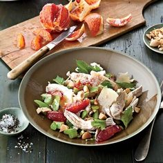 Winter Chicken Salad with Citrus and Celery