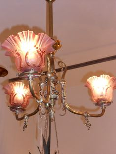 Antigua lampara bronce francesa