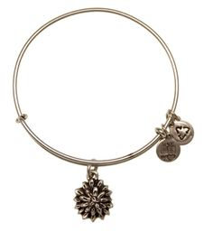 @AlexandAni Bangle of the Month for March! LOVE it. wire bangl, ani bracelet, lili charm, expand wire, alex and ani, bangles, alexandani, water lilies, alex o'loughlin