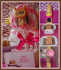 Owl 3rd birthday party
