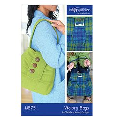 Indygo Junction Quilt Patterns | from Indygo Junction | Bags/Totes | Butterick Patterns
