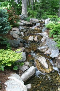 Pondless Waterfall I built back in 2001