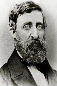 Henry David Thoreau in 1861