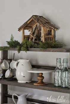 Love this nativity from @homegoods! #sponsored #homegoodshappy #happybydesign