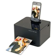 VuPoint iPhone Photo Cube with Wi-Fi from TravelSmith