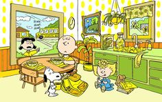 Morning time with the Peanuts gang!