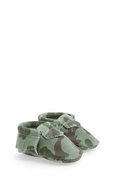 Camo print moccasins - a must!