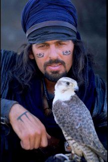 Oded Fehr as Ardeth Bay in the Mummy movies.