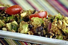 Southwestern Quinoa Salad with Avocado and Black Beans