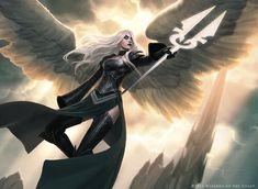 "Jason Chan - ""Avacyn, Angel Of Hope"" TCG Magic card for Wizards of the Coast"