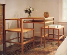 donald judd - table with shelf